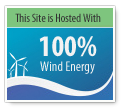This Site is Hosted with 100% Wind Energy